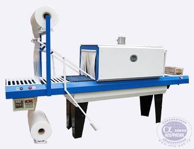 Оборудование для групповой и транспортной упаковки, упаковка в термоусадочную полиэтиленовую пленку