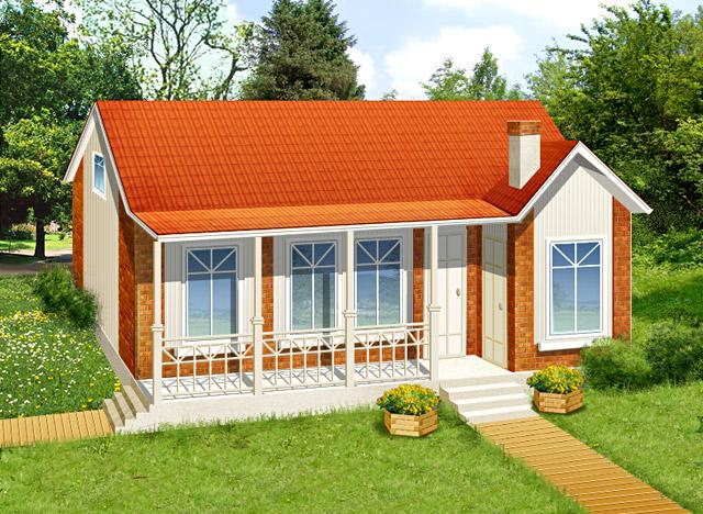 Как построить дом одноэтажный своими руками